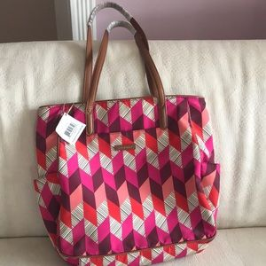 Brand new with tags!!! Beautiful Vera Bradley tote